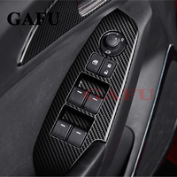 Car Styling For Mazda cx5 cx 5 2017 2018 ABS Matte Auto Interior Door Armrest Panel Window Lift Button Cover Trim Accessories