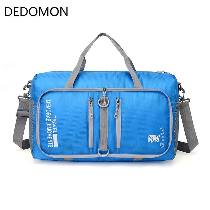 Outdoor Unisex Large Capacity  Foldable Sling Shoulder Multifunctional  Sport Bag Travel Sport Fitness Gym Baghandbag Duffle Bag