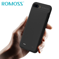 ROMOSS Battery Charger Case For iPhone 7 7Plus 8 8Plus Power Bank Case Cover