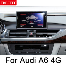 For Audi A6 S6 4G 2011~2015 MMI Car Radio GPS Android Navigation multimedia Player AUX Stereo touch screen original style map HD