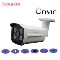 Evolylcam 2MP 1080P HD IP Camera Micro SD/TF Card Sony imx323 Onvif P2P Outdoor Network CCTV Camera Optional Audio Wireless WIFI