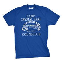 Mens Summer Lake Camp Scary Halloween Horror Movie T Shirt Normal Trend Slim White Style 2017 Brand T-Shirt Men Fashion