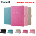 Hello-Kitty PU Cover Stand Case For iPad 2 3 4 iPad Air1 iPad Air 2 Case Cover Magnetic Extra Slim for Fundas iPad 5 6 Case