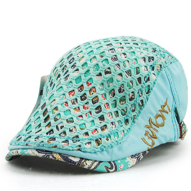 New Pattern Embroidery Lady Hats Summer Fashion Cotton outdoors woman visors women 39 s hat 8847 in Men 39 s Visors from Apparel Accessories