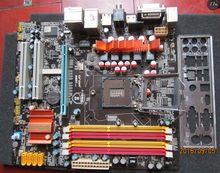 Usado original para onda h55t vga + dvi + hdmi 1156 ddr3 h55 placa-mãe