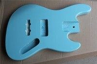 Оптовая продажа с фабрики небесно голубой цвет 4/5 Струны электрический бас гитара тела, предложение по индивидуальному заказу