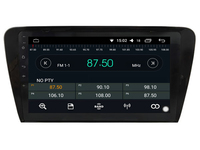 OTOJETA DSP stereo carplay android 8.1.2 car radio for skoda Octavia 2014 SUPERB Gps Ips screen video player DVD tape recorder