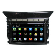 For Wholesale capacitive pure android 4.4 car dvd player GPS for Pilot car radio gps with GPS 3G Wifi android bluetooth radio