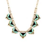 Christmas Gift Geometric Triangle Necklace Maxi Choker New Item Statement Jewelry 2016