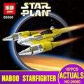 Lepin 05060 187 Unids Serie Star El Rogue Uno USC Estilo Naboo Fighter Juego de Bloques de Construcción Ladrillos Educativos de Regalo 10026