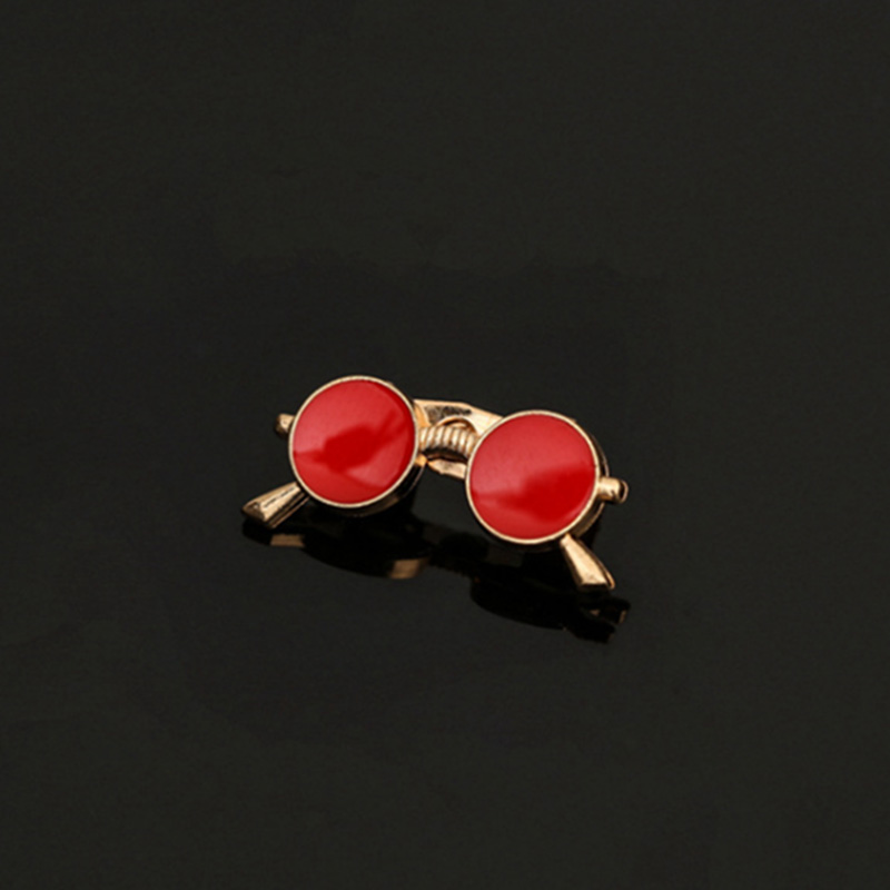63c49b1567a2 Enamel Pin Multi Color Lapel Men Small Glasses Brooch Metal Brooches Safety  Pin Male Brooch Lapel Pin For Women Jewelry Party-in Brooches from Jewelry  ...