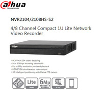 Dahua Video Recorder NVR NVR2104HS S2 NVR2108HS S2 4ch 8ch Up To 6Mp Resolution 3D Intelligent