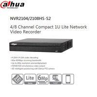 Dahua Video Recorder NVR NVR2104HS S2 NVR2108HS S2 4ch 8ch Up To 6Mp Resolution 3D Intelligent