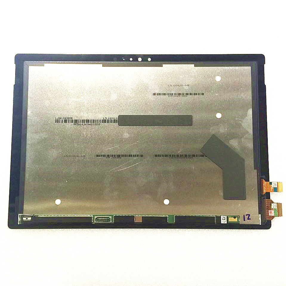 For Microsoft Surface Pro 4 Pro4 1724 LCD Display Screen Digitizer Touch Panel Glass Assembly + Tools