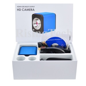 Image 5 - Professional HD 1080p 60fps SONY imx236 sensor trinocular C mount digital video HDMI USB microscope camera