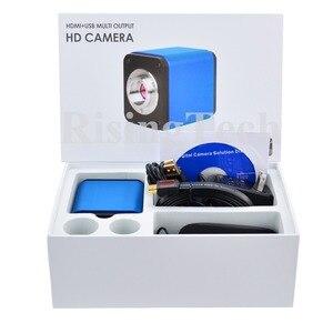 Image 5 - Professionelle HD 1080p 60fps SONY imx236 sensor trinokular C mount digital video HDMI USB mikroskop kamera