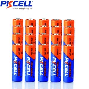 Image 1 - 24PCS PKCELL 12v battery 27a MN27 27A L828 A27 l828 12 v battery Super Alkaline batteries For Doorbell Remote Control