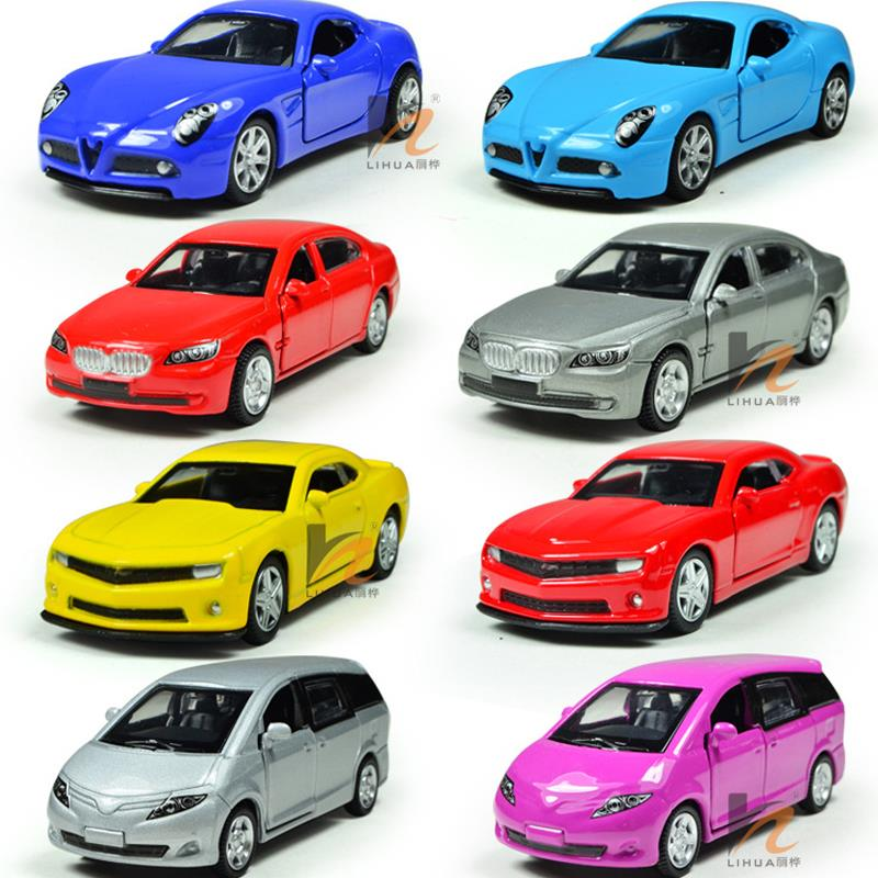 Miniature Toy Cars 1 64 Alloy Plastic Kids Toys Car Non Remote