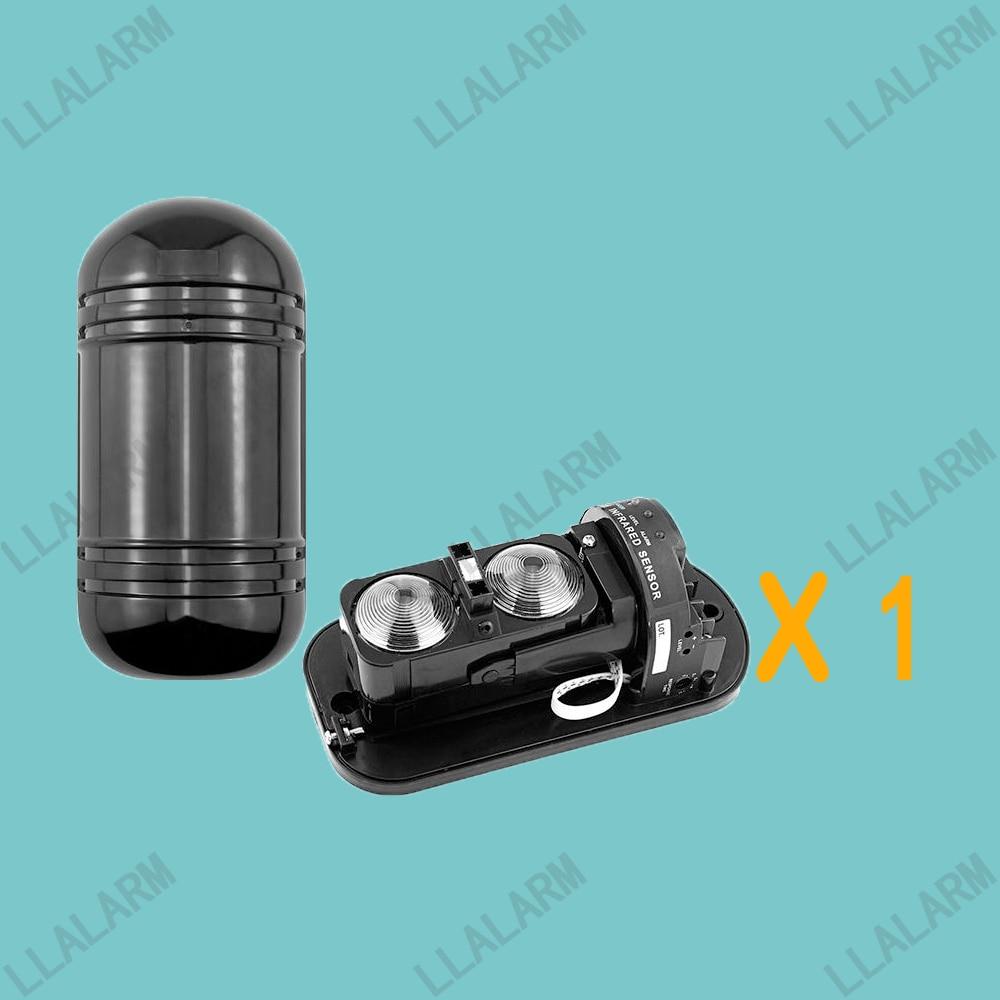 Outdoor Dual Beams 20 mt zu 100 mt Infrarot IR Alarm Sensor ...