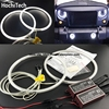 HochiTech Ccfl Angel Eyes Kit White 6000k Ccfl Halo Rings Headlight For Jeep Wrangler CJ TJ