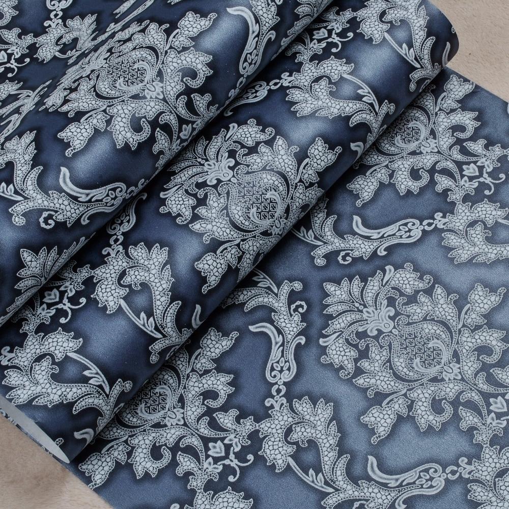 Online kopen Wholesale blauw damast behang uit China blauw damast ...
