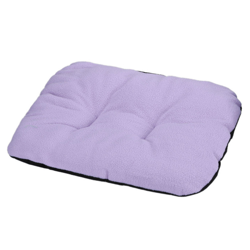 D3 High Cost-Effective 2 Colors New Dog Blanket Pet Cushion Dog Cat Bed Soft Warm Sleep Mat Free Shipping 12.18