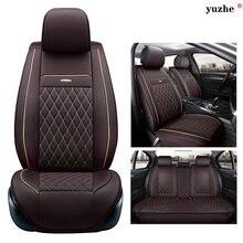 Yuzhe de cuero cubierta de asiento de coche Para Kia cerato sportage sorento RIO optima alma K2K3K4K5 sorento Ceed accesorios car styling