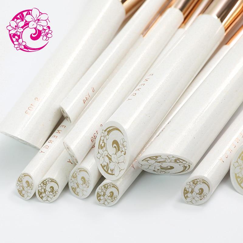 Энергетический бренд Профессиональный 8 шт. набор кистей макияж кисти Pinceaux Maquillage Brochas Pincel cjl - 5