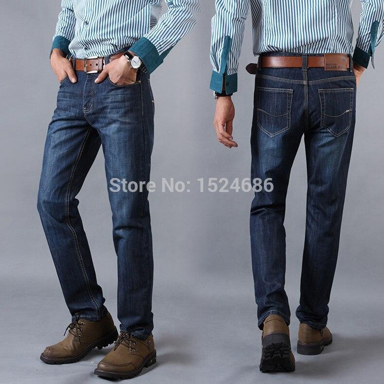 ФОТО Men Jeans 2016 Hot Sale Mens Fashion Regular Straight Jean Homme Denim True Jeans For Men Pantalones Vaqueros Hombre Marca 6520