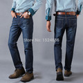 Men Jeans 2016 Hot Sale Mens Fashion Regular Straight Jean Homme Denim True Jeans For Men Pantalones Vaqueros Hombre Marca 6520