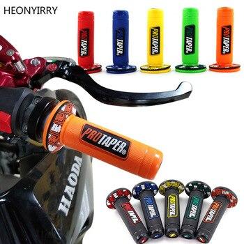 Un par moto rbike barra de la manija parte moto rcycle manillar para Protaper honda yamaha KTM moto Cruz moto agarre pit bike