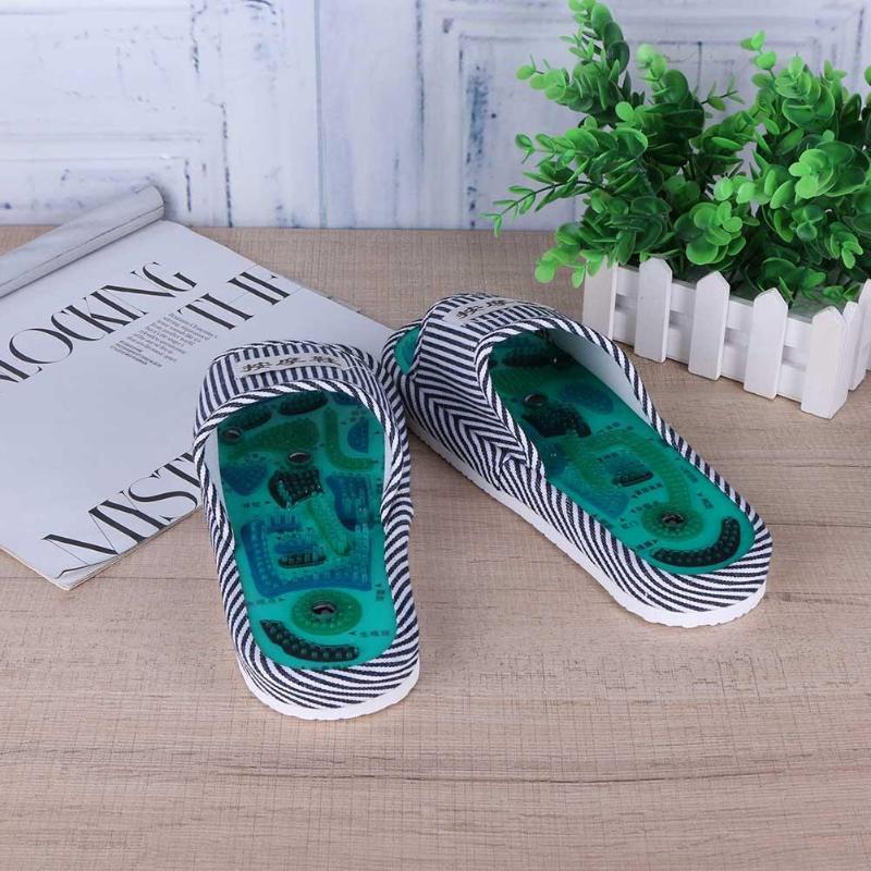 Akupunktur fod massage tøfler sundhed sko refleksologi magnetiske - Sundhedspleje - Foto 2