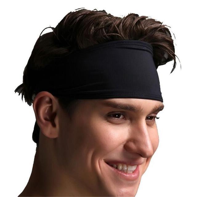 DROPSHIP 2018 New Arrival Women Head Band Sweatband Headband Stretch Mens  Wrap Elastic Sports Men Thin Headwear Freeship  J05 65f858c8235
