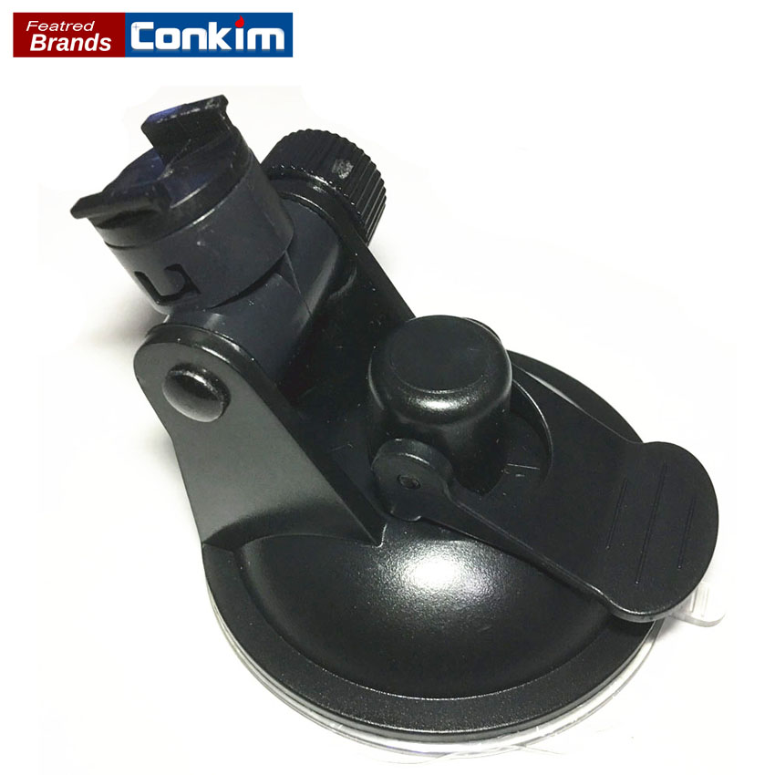 Conkim Car DVR / GPS holder for Sport DV Camera mount DVR holders Driving recorder suction cup Black Stands Holde car suction cup for dash cam holder with 6 types adapter 360 degree angle car mount for driving dvr camera camcorder gps acti