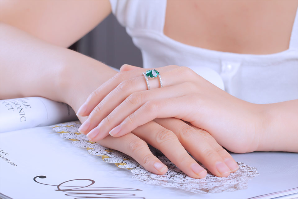 UMCHO-Emerald-silver-sterling-rings-for-women-RUJ074E-1-PC_07