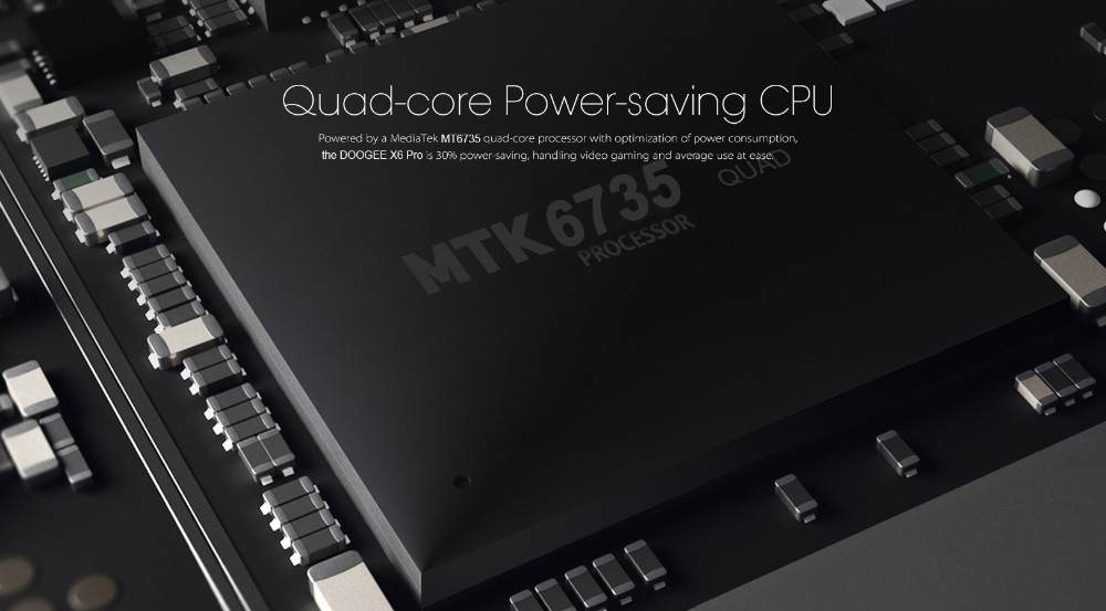 מקורי לDOOGEE X6 Pro 4G smartphone 5.5 אינץ MTK6735 64bit Quad Core אנדרואיד 5.1 2GB זיכרון RAM 16GB ROM הטלפון הסלולרי 3000mAh GPS ניידים
