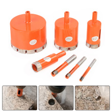 купить New 6-95mm 8mm 10mm Diamond Drilling Core Bit Stone Drill Bit Diamond Drill Hole Saw Drilling Bits Bell Saw for Marble Glass по цене 67.09 рублей