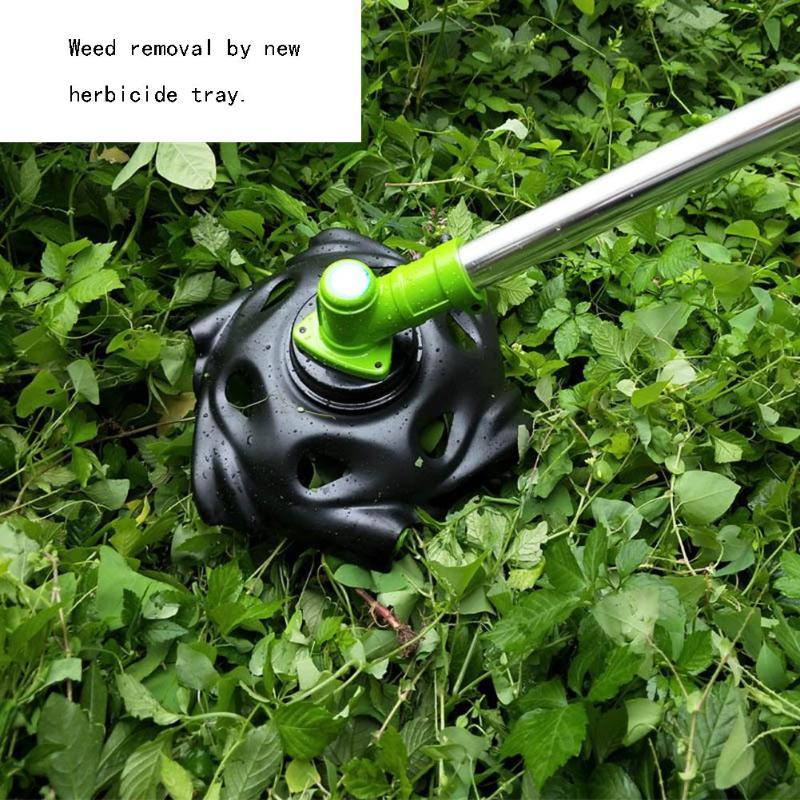 Outdoor Tools Outdoor Garden Grass Wheel Lawn Mower Claw Tray Weeding Head Raking Grass Wheel Outdoor Accessories
