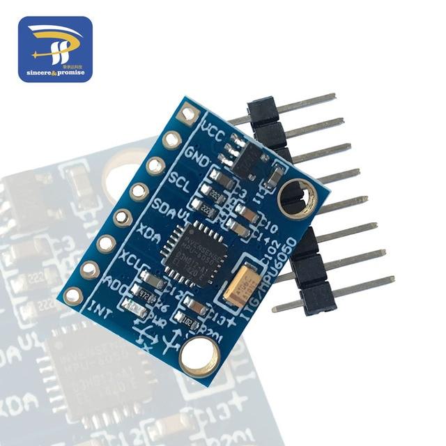 GY-521 MPU-6050 mpu6050 module 3 Axis analog gyro sensors Accelerometer Module