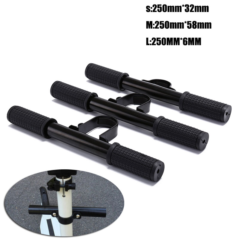 Black Electric Adjustable Skate Board Kids Children Handle Grip Bar Holder Knob Safe for Xiaomi M365 Electric Scooter Skateboard
