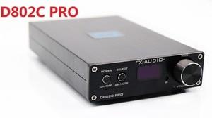 Image 1 - 2018 FX Audio D802C PRO 전체 디지털 앰프 BT@4.2 입력 USB/RCA/광/동축 입력 24Bit/192KHz 80W * 2 전원 어댑터 없음
