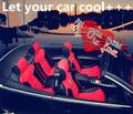 2016 Nuevas Cubiertas Del Asiento de Coche de Cuero Carbón Tapicería Tapicería de Cuero Común Off-Road Coches, Coche de Cubierta, de coches de Estilo Para BMW Q5 Q7
