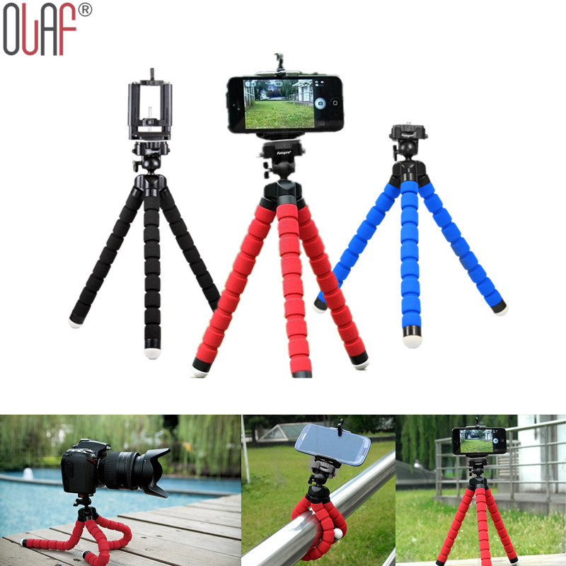 Flexible Tripod Selfie Stick Stand For Iphones