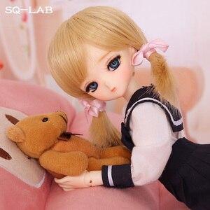 Image 4 - OUENEIFS SQ Lab Chibi Tsubaki 31cm 1/6 BJD SD Resin Model Baby Girls Boys Dolls Eyes High Quality Toys Shop Figures Gifts