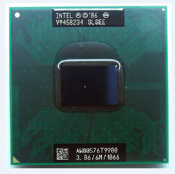 Processore ORIGINALE INTEL PGA GM / PM45 T9900 3.06Ghz 6m 1066 mhz cpu