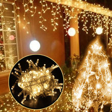 String Light 100 LED 10M Christmas/Wedding/Party Decoration Lights garland AC 110V 220V outdoor Waterproof led lamp 9 Colors led blue 180 led christmas decoration string lights 18 meter 220v ac