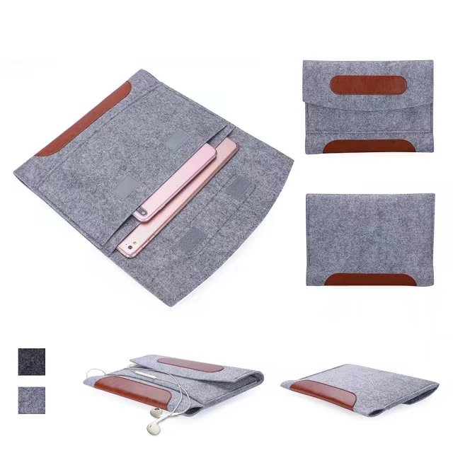 For iPad mini 1 2 3 4 Case Sleeve Bag, Shockproof Wool Felt Sleeve Bag Pouch Case for iPad mini 2 Universal 7 8 inch Tablet Case print batman laptop sleeve 7 9 tablet case 7 soft shockproof tablet cover notebook bag for ipad mini 4 case tb 23156
