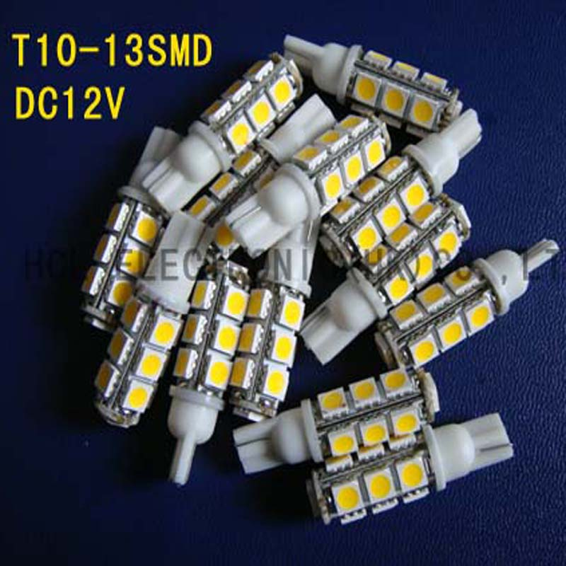 High quality 12V Car led indicator light Signal light Pilot lamp 158,168,194,912,W5W,W3W,501,T10 wedge free shipping 20pcs/lot
