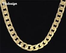 Ожерелье цепочка uodesign в стиле хип хоп для мужчин ширина