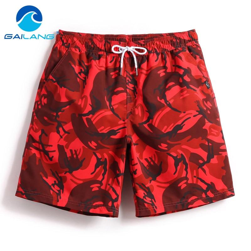Gailang Brand Men Beach Shorts Board Boxer Trunks Short Bottoms Swimwear Swimsuits Quick Drying Men Boardshorts Big Plus Size